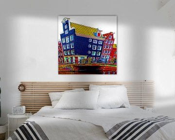 Colorful Amsterdam #110