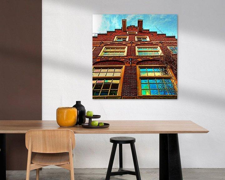 Sfeerimpressie: Colorful Amsterdam #106 van Theo van der Genugten