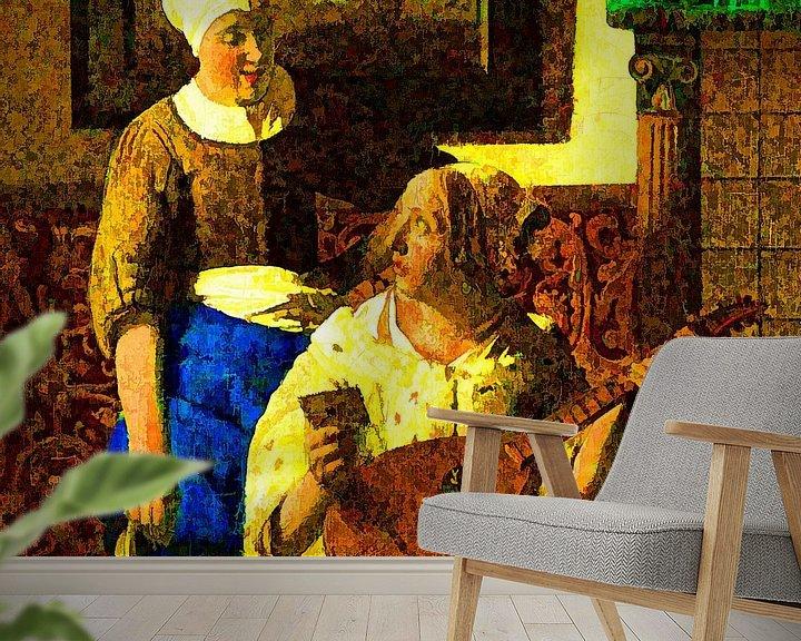 Sfeerimpressie behang: De Liefdesbrief van Theo van der Genugten