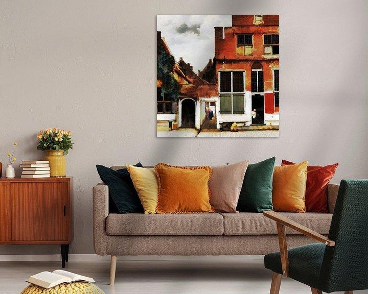 Beispiel: Die kleine Straße (digital bearbeitet) von Theo van der Genugten