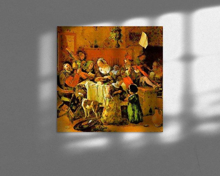 Sfeerimpressie: Het Vrolijke Huisgezin van Theo van der Genugten