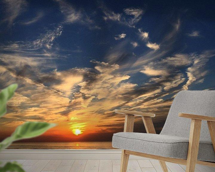 Sfeerimpressie behang: Colorful Beach #102 van Theo van der Genugten