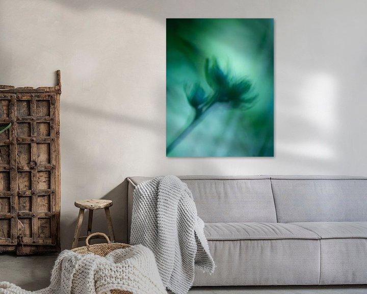 Sfeerimpressie: Aquarel in groen van Kati van Helden