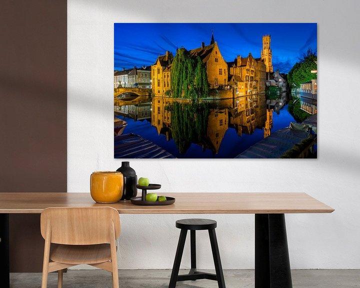 Beispiel: Rozenhoedkaai Brugge von Bert Beckers