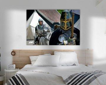 Der Ritter und sein Knappe von Wim van der Geest