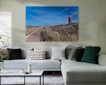 Vuurtoren Texel van Wim van der Geest