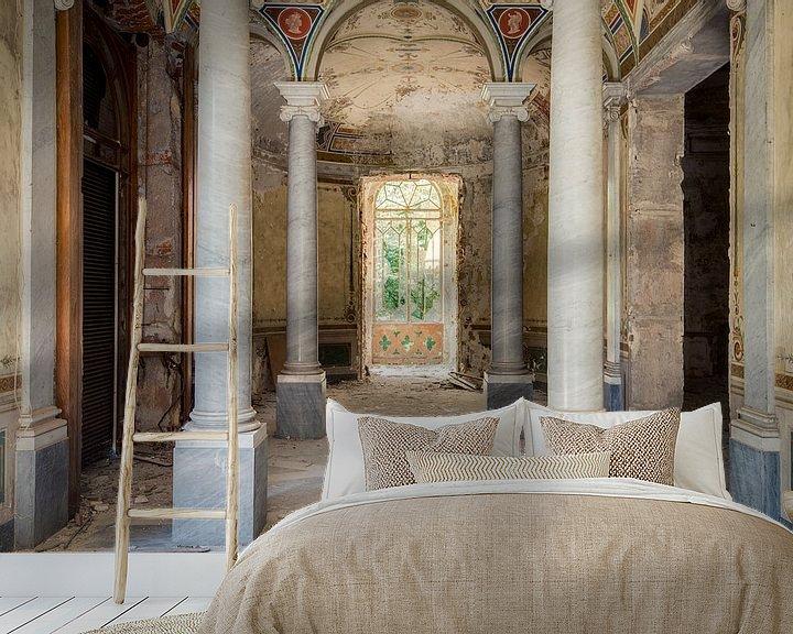 Sfeerimpressie behang: Hal van Villa van Perry Wiertz