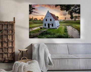 Zonsopkomst Kruithuis in Brielle sur Charlene van Koesveld