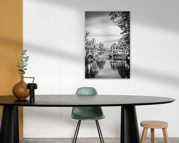 Stadsgezicht Delft von Hans Lunenburg