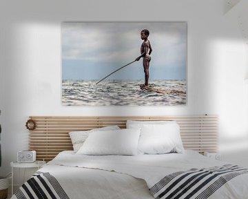 Vissen (Fishing) van Ed Peeters