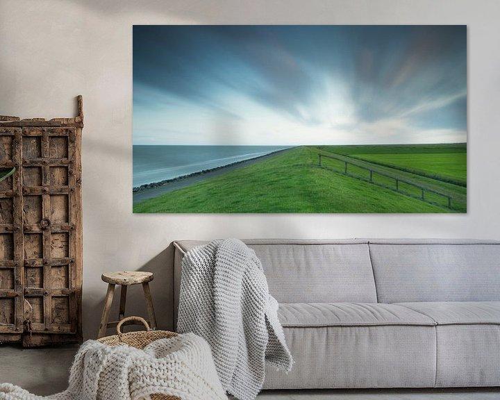 Sfeerimpressie: Nederlandse dijk van Art Wittingen
