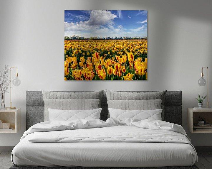 Sfeerimpressie: Tulpen Den Hoorn Texel van Texel360Fotografie Richard Heerschap