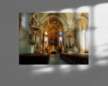 Rattenberg kerk in Oostenrijk von Joke te Grotenhuis