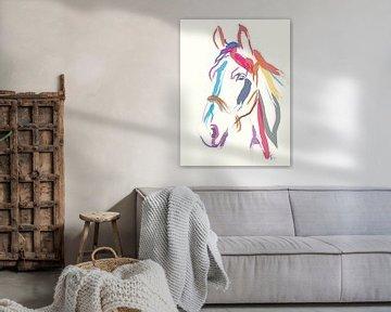 Paard Colour me Beautiful in Ecru