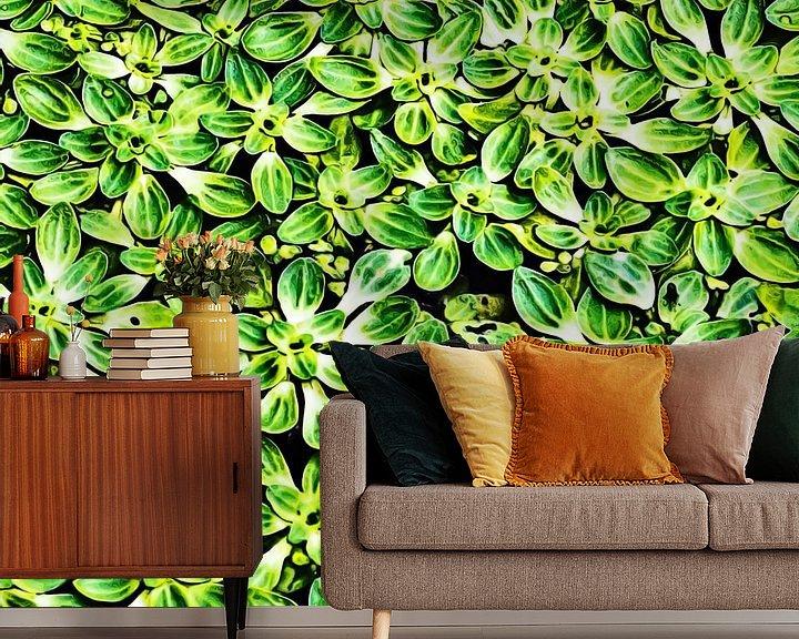 Sfeerimpressie behang: Waterplanten van Art by Jeronimo