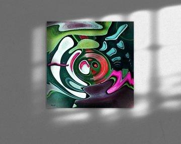 Abstrakt-Art a2 von Gertrud Scheffler