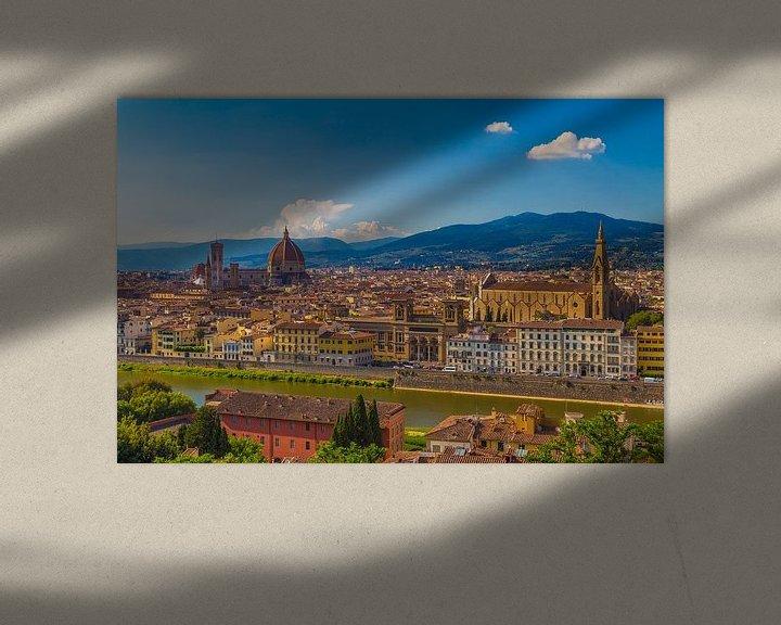 Sfeerimpressie: Florence, Italië - Uitzicht over de stad - 3 van Tux Photography