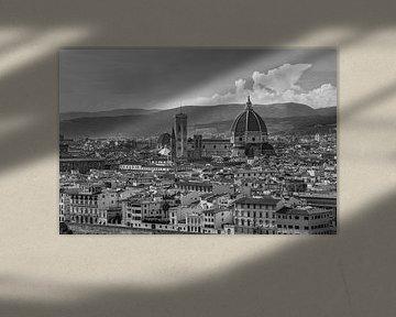 Florence, Italië - Uitzicht over de stad - 5
