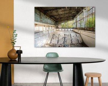 Verlassener Swimmingpool. von Roman Robroek
