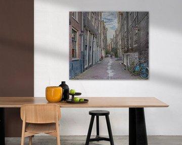 Oude Nieuwstraat Amsterdam van Foto Amsterdam / Peter Bartelings