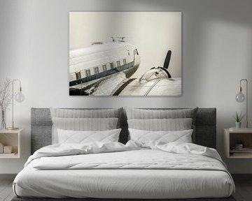 Aéronef propulseur Vintage Douglas DC-3 sur Sjoerd van der Wal
