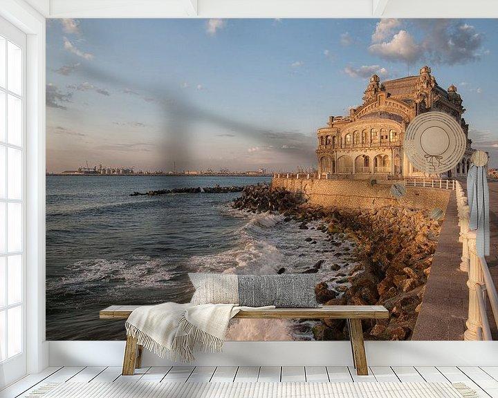 Sfeerimpressie behang: Constanta Casino  van Hettie Planckaert