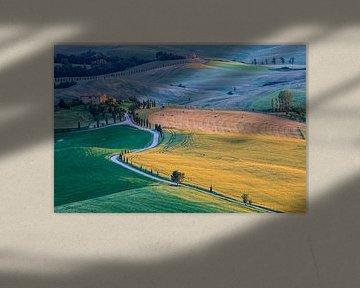 Agriturismo Podere Terrapille. Toscane van Henk Meijer Photography