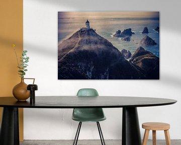 Vuurtoren van Nugget Point van Jasper van der Meij