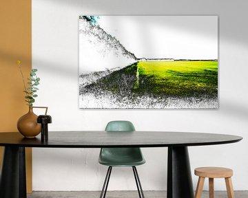 Gestörte Landschaft #005 von Peter Baak