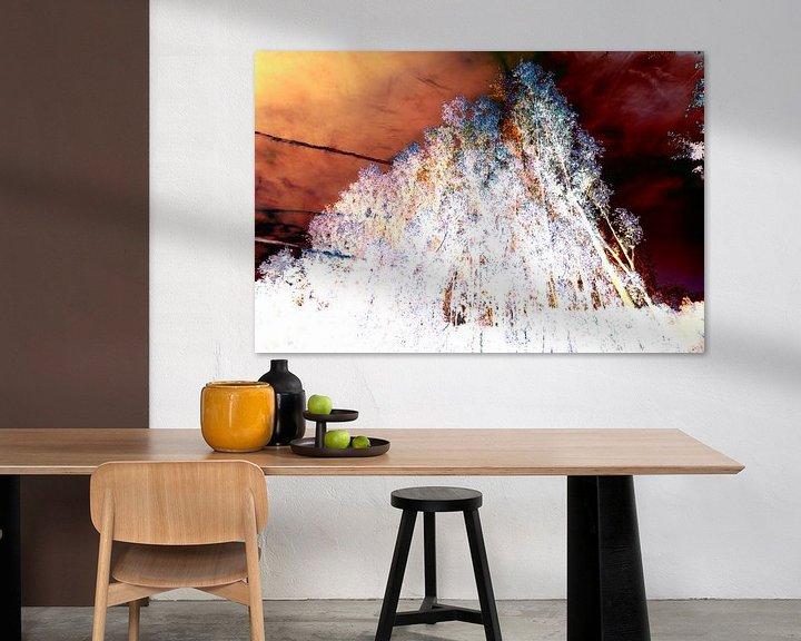 Beispiel: Gestörte Landschaft #006 von Peter Baak