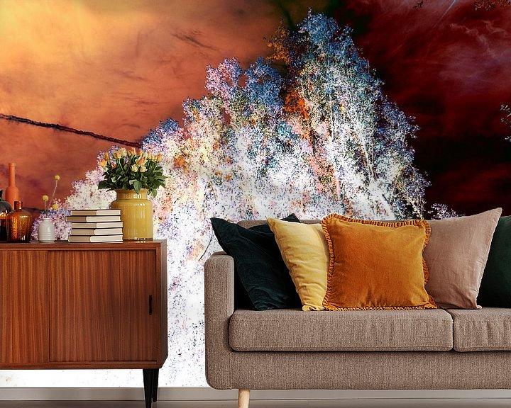 Beispiel fototapete: Gestörte Landschaft #006 von Peter Baak