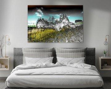 Gestörte Landschaft #011 von Peter Baak