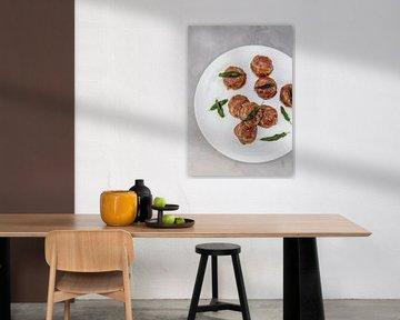 Kalfsgehaktbrood met salie & kweeperengelei van Nina van der Kleij