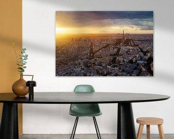 Parijs Panorama van Jesse Kraal