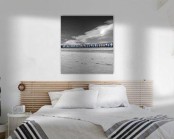 Beach Houses von Jacky Gerritsen