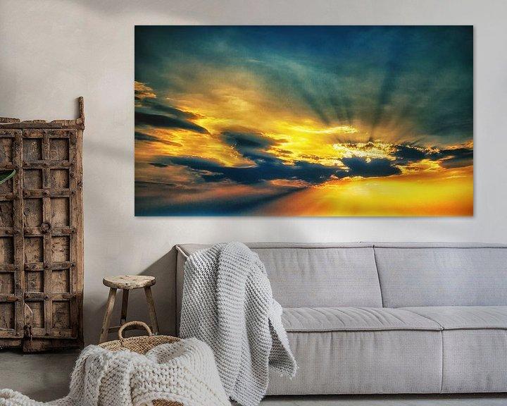 Beispiel: Goldener Himmel von Holger Debek
