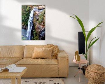 Lisbon Falls / Waterval  Zuid-Afrika van Paul Franke
