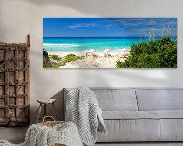 Playa Migjorn, Formentera, Balearic Islands - Spain van Van Oostrum Photography