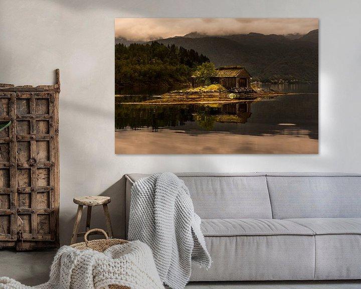 Sfeerimpressie: Old Boathouse  van Arthur Wolff