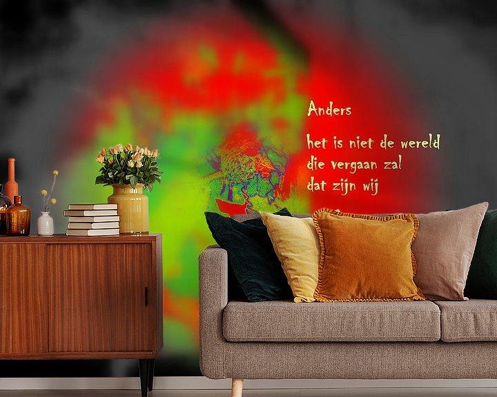 Sfeerimpressie behang: Anders van Piet Hardendood