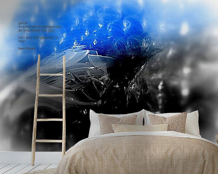 Sfeerimpressie behang: Geluk van Piet Hardendood