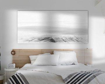 Snowy mountains von Claudia van Zanten