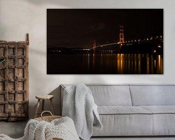 Golden Gate Bridge van Bjorn van der Wee