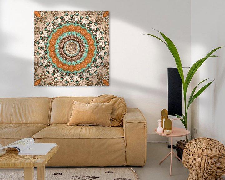 Sfeerimpressie: Mandala Herfst van Marion Tenbergen