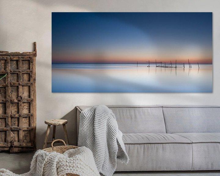 Sfeerimpressie: summerlight at sea van Aline van Weert