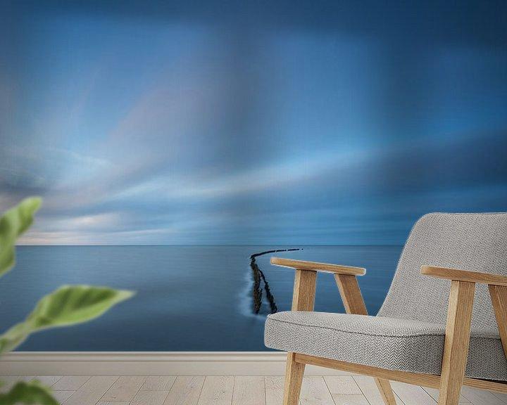 Sfeerimpressie behang: as wind goes by van Aline van Weert