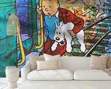 Kuifje en Bobbie / TinTin van Frans Mandigers