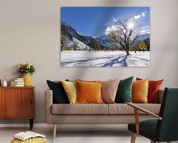 Winter Landscape van Thomas Froemmel