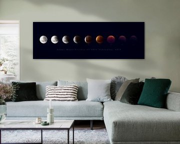 Sequence of Super Moon Eclipse 2016 van Thomas Froemmel