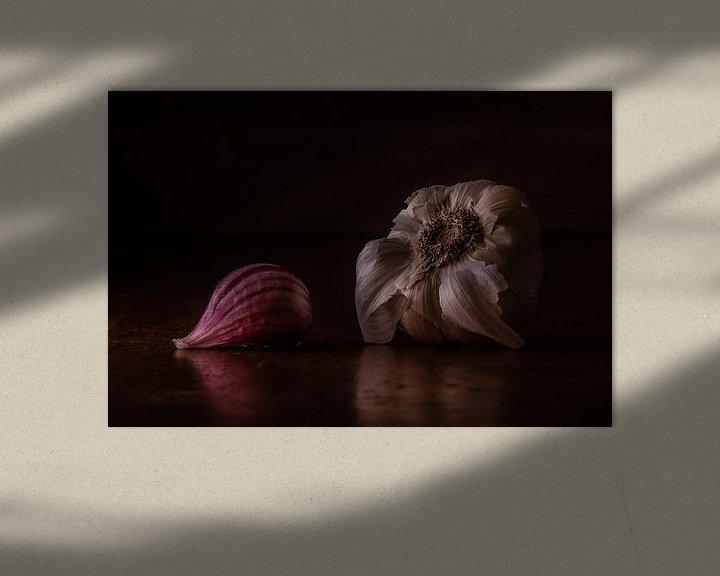 Sfeerimpressie: Stilleven knoflook van Martzen Fotografie